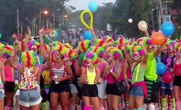 Aprontando el carnaval en La Pedrera
