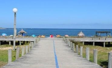Playa accesible en La Paloma