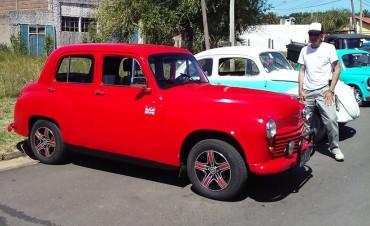 Exposición de autos clásicos