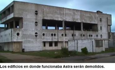 Autorizaron la demolición de la ex pesquera Astra en el puerto