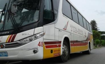 Sin ómnibus: interdepartamentales pararán mañana por 24 horas