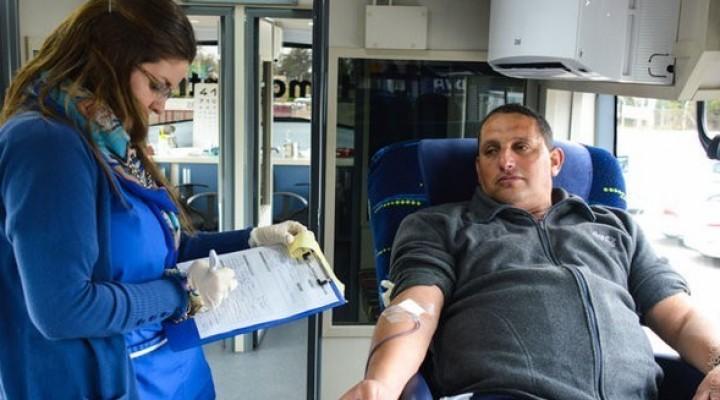 Donación de sangre en Rocha