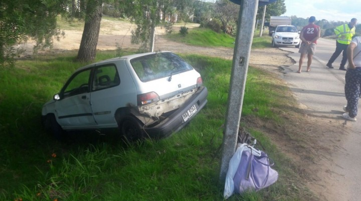 Accidente en La Paloma
