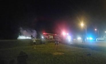 Dos heridos en choque de motos