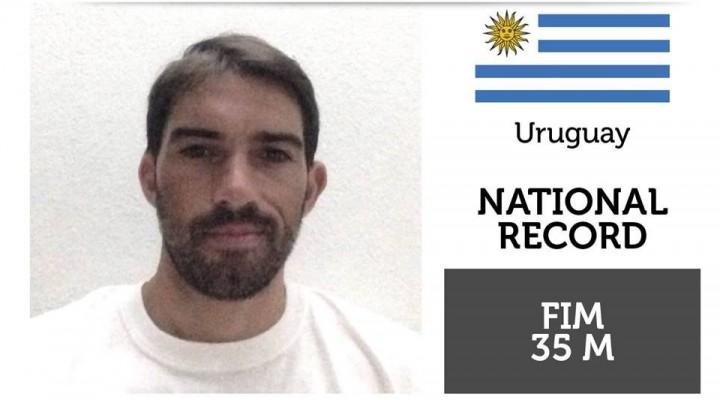Francis Batista, el palomense que logró un récord para Uruguay
