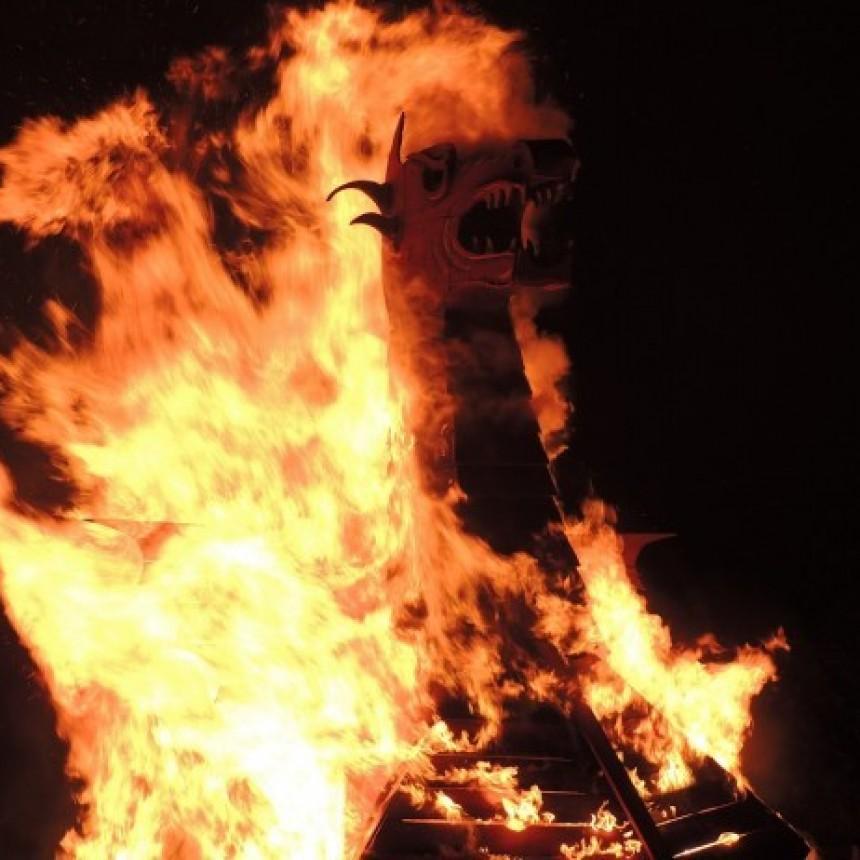 La Pedrera arderá en San Juan