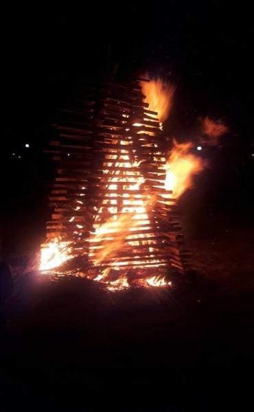 El invierno comenzó con fiesta y fuego