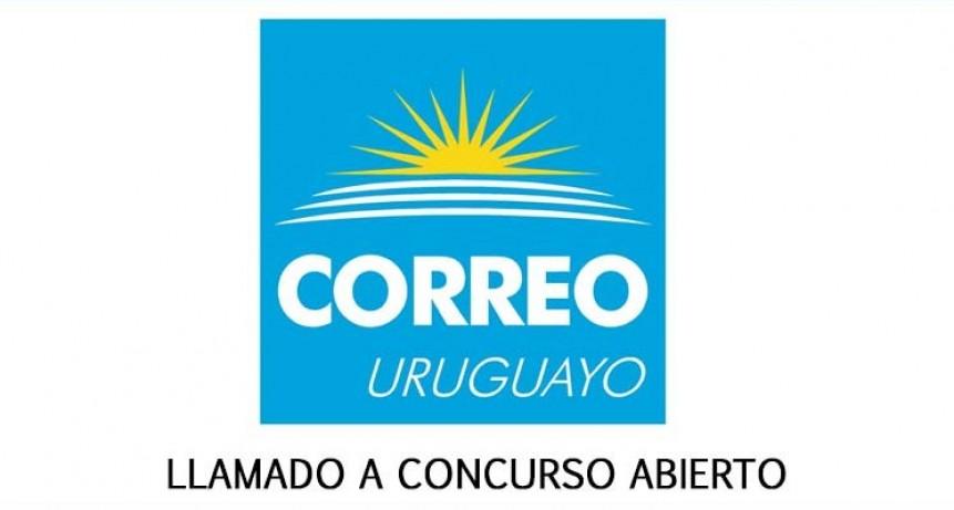 Llamado a concurso abierto en el Correo Uruguayo