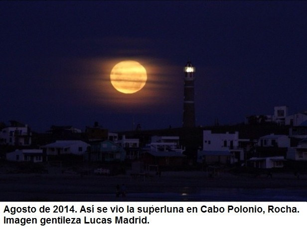 Hoy tenemos super luna for Que luna tenemos hoy