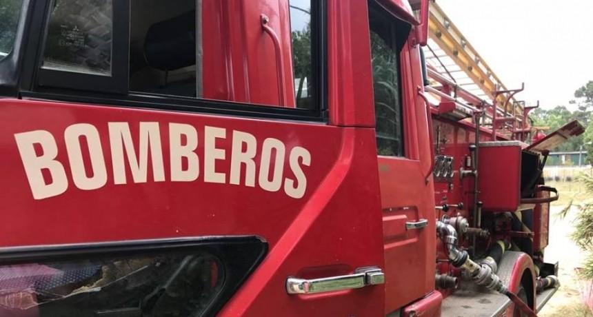 Se incendió una vivienda en Barrio Parque