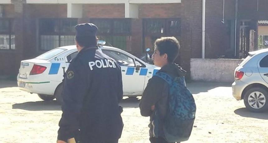 Amenaza de bomba en el Liceo de La Paloma