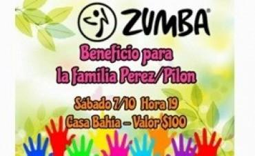 Zumba y fútbol para ayudar a la familia Pilón