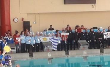 Nado sincronizado: palomenses lograron medallas en Chile