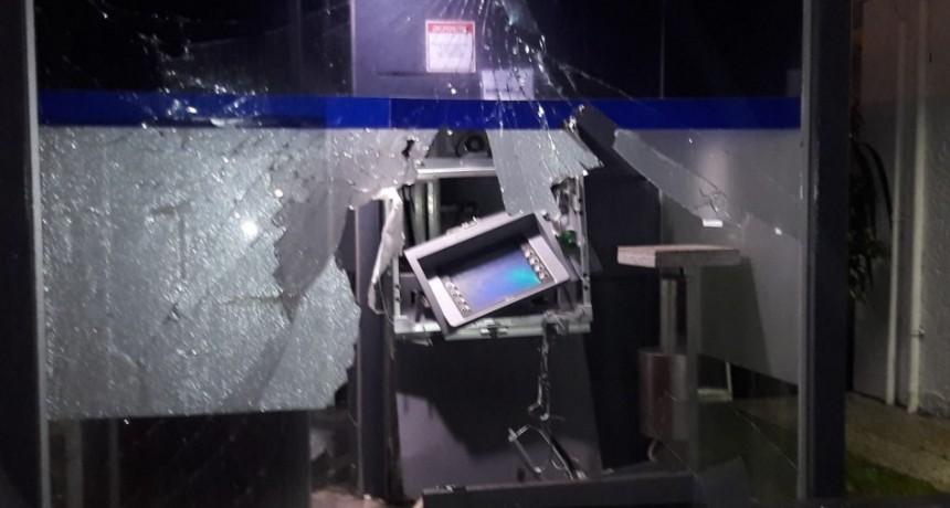 Detuvieron al líder de banda que explotó el cajero en La Paloma