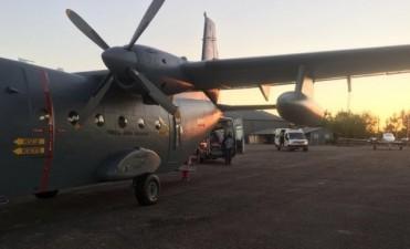 5 días de ejercicios aéreos en Fortaleza de Santa Teresa