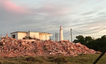 La Paloma: demolieron la casa de Cataldi