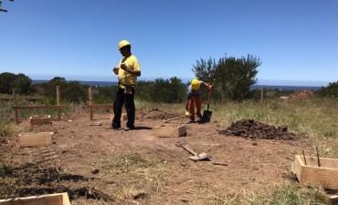 Seguridad: comenzaron obras para nuevo destacamento en Punta Rubia