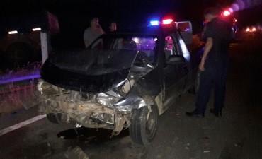 Accidente con lesionados en Ruta 15