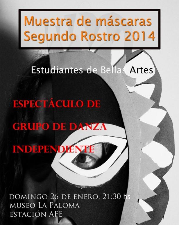 Espectáculo de estudiantes de bellas artes en La Paloma