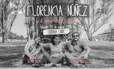 Recital de Florencia Núñez en La Paloma