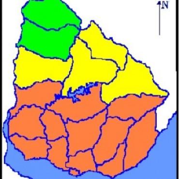 Meteorología emitió advertencia naranja para Rocha y gran parte del país