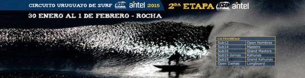 Segunda fecha del Circuito Nacional de Surf en La Paloma