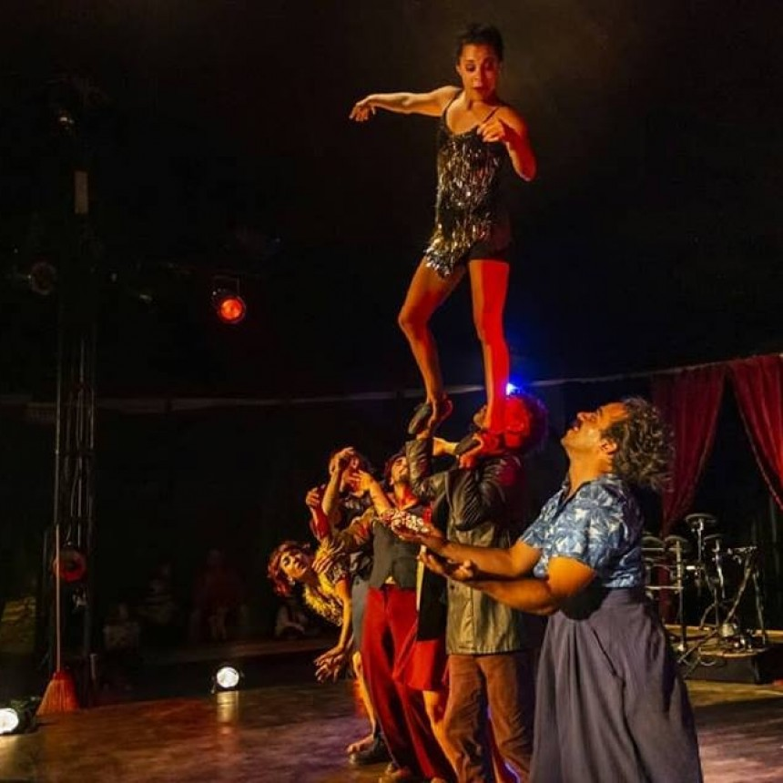 Migra: el circo que divierte a la familia en La Paloma