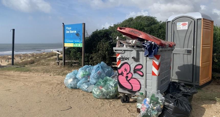 El municipio hizo un operativo especial de limpieza en La Pedrera