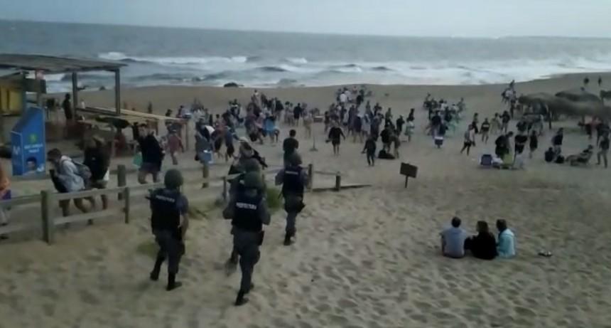 Municipio de La Paloma evalúa medidas ejemplarizantes por aglomeración en parador de la Playa del Barco