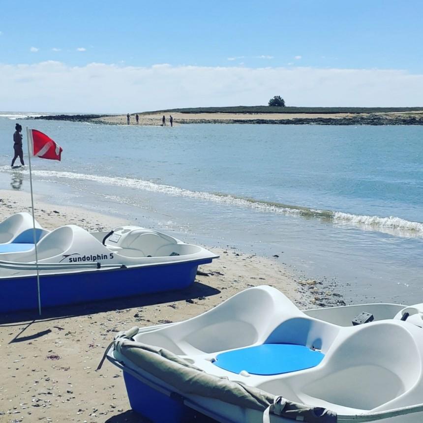 Snorkel y botes a pedal, actividades para disfrutar en La Paloma