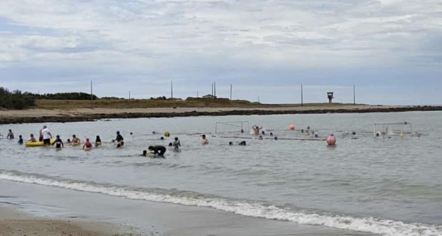 Torneo de waterpolo en La Paloma