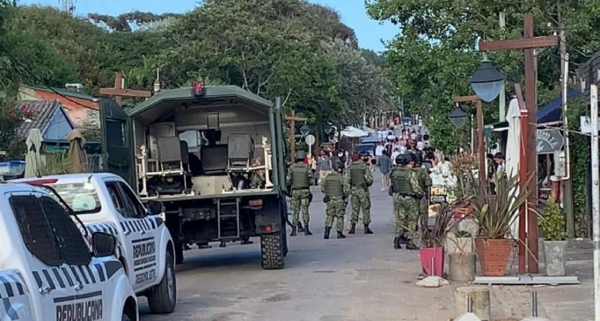 Fuerte operativo para evitar aglomeraciones y fiestas clandestinas en La Pedrera