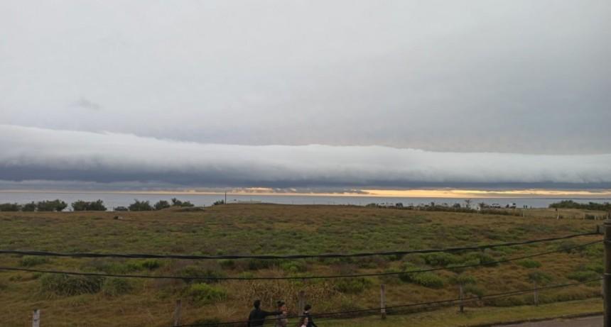 Nube rodillo en La Paloma
