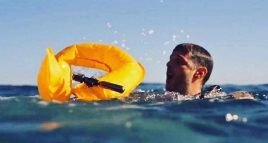 Presentan en La Paloma el flotador inteligente