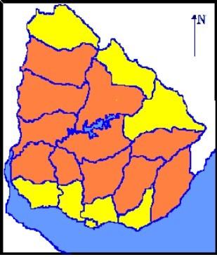 Advertencia naranja se extenderá hasta las 15:00 horas de este martes