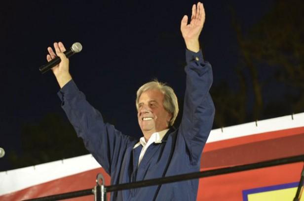 Tabaré Vázquez en La Paloma