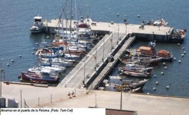 Pintado inaugura obras en Puerto La Paloma