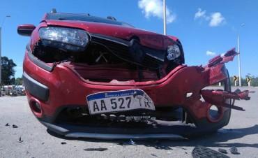 Otro accidente en ingreso a La Pedrera