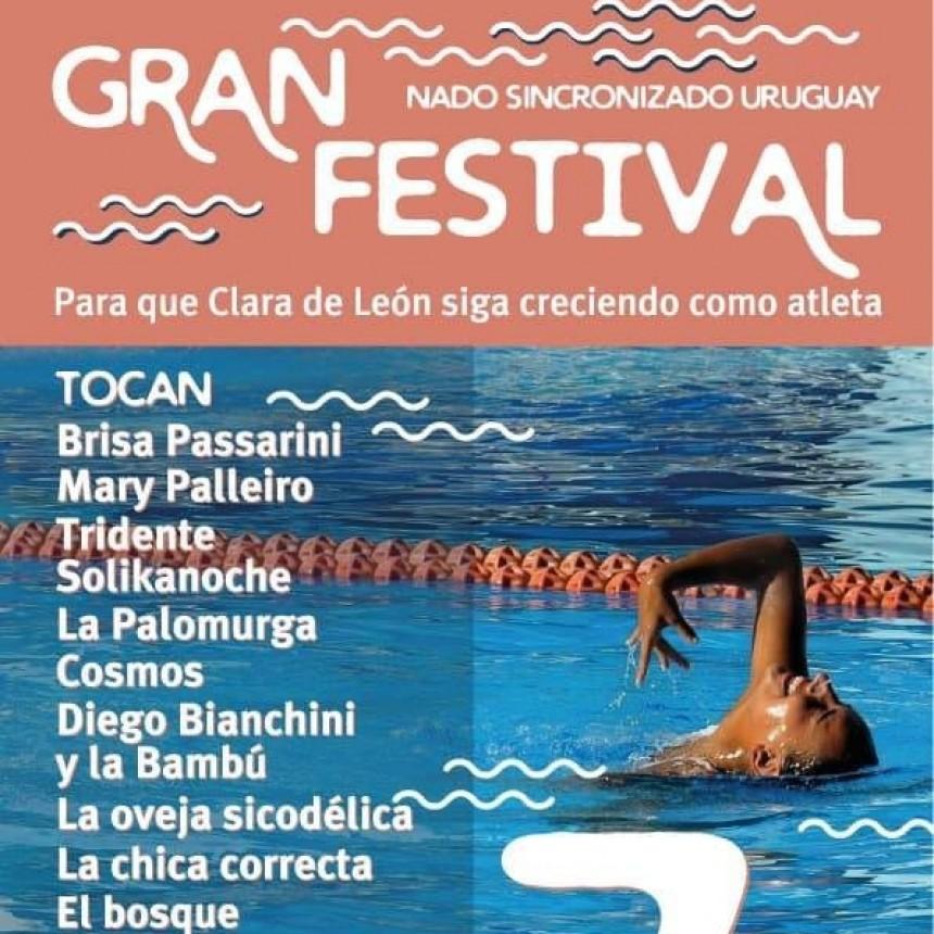 Gran festival a beneficio de la atleta uruguaya Clara de León