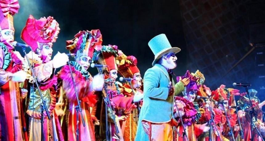 Escenario de carnaval en La Paloma