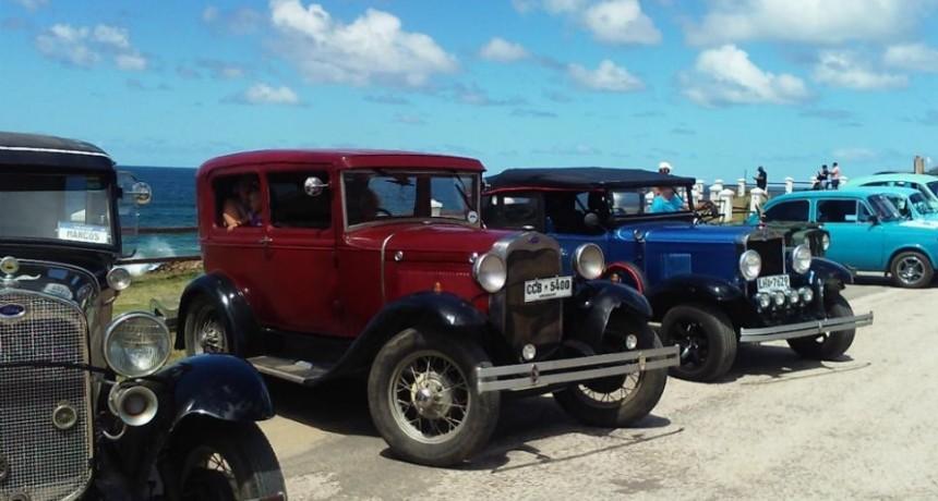 Encuentro de autos clásicos