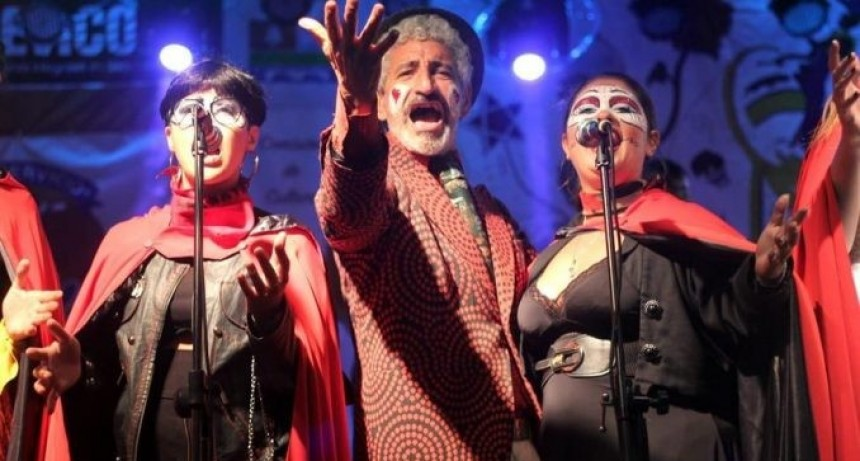 Tablado de Carnaval en La Paloma