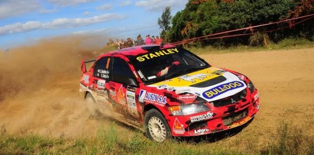 Primera rueda del Rally Nacional se corre en Rocha