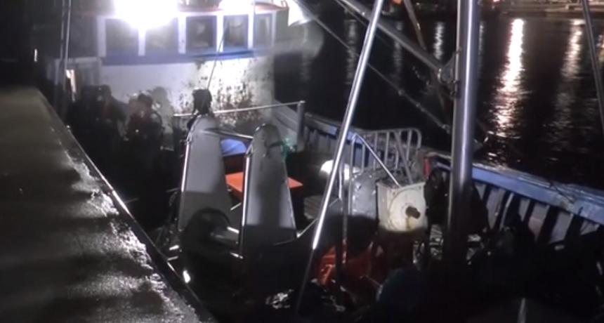 La Paloma: se escapó un barco que había sido capturado por prefectura y la armada