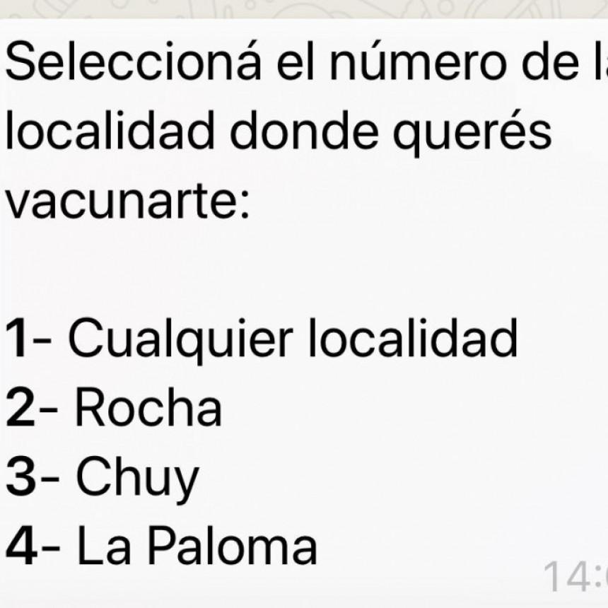 Ya está activada la opción para vacunarse en La Paloma