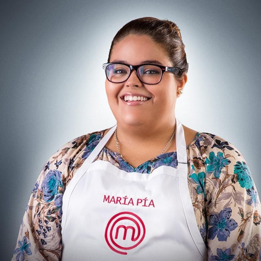 María Pía, ex Master Chef, busca ganar un concurso para mejorar su emprendimiento