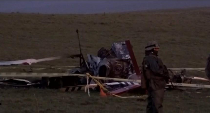 Helicóptero que trasladaba vacunas de Pfizer se accidentó en Rocha