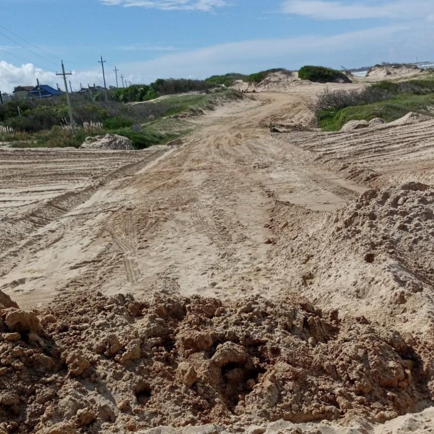 El municipio aclara la situación de los médanos en La Serena