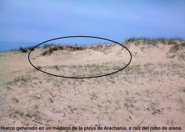 Preocupa al Municipio el robo de arena en las playas