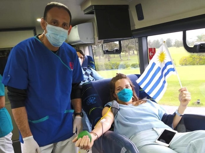 Jornada de donación de sangre en Rocha